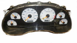 Interior - Instrument Clusters & Bezels - 1996-1998 Cobra Instrument Cluster W/Out Core Exchange