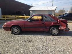 1979-1986 - Parts Cars - 1986 Ford Mustang GT RED