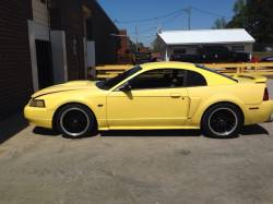 2002 Ford Mustang GT Yellow