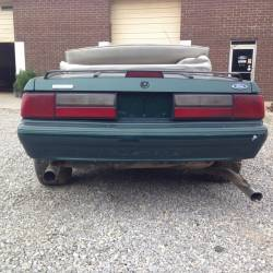1990 Ford Mustang LX-Green - Image 3