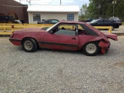 1979-1986 - Parts Cars - 1986 Ford Mustang LX/GT Red