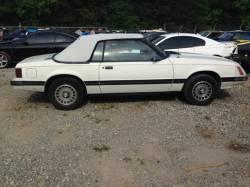 1979-1986 - Parts Cars - 1983 Ford Mustang Convertible