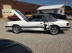 1979-1986 - Parts Cars - 1986 Ford Mustang Convertible White