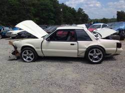 1987-1993 - Parts Cars - 1989 Ford Mustang White
