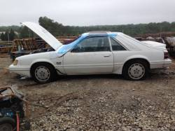 1979-1986 - Parts Cars - 1985 Ford Mustang T-Top White