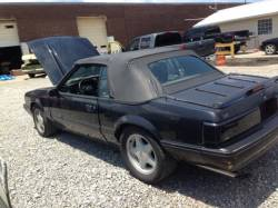 1987-1993 - Parts Cars - 1988 Ford Mustang Convertible LX