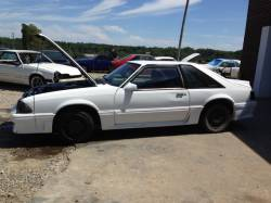 1987-1993 - Parts Cars - 1989 Ford Mustang GT White