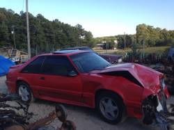 1987-1993 - Parts Cars - 1987 Ford Mustang Hatchback