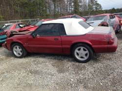 1987-1993 - Parts Cars - 1992 Ford Mustang LX Convertible