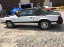 1979-1986 - Parts Cars - 1985 Ford Mustang LX Convertible