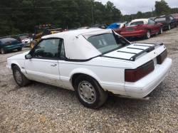 1987-1993 - Parts Cars - 1989 Ford Mustang Convertible LX