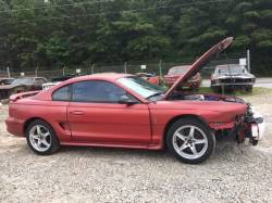 1994-1998 - Parts Cars - 1998 Ford Mustang Cobra Red
