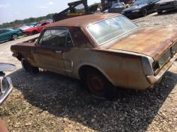 1964-1973 - Parts Cars - 1966 Ford Mustang Coupe