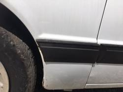 Exterior - Body Moldings - 1987-1993 LX Front Left Side Rear Molding