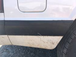 Exterior - Body Moldings - 1987-1993 LX Right Side Quarter Molding Rear