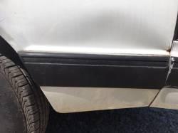 Exterior - Body Moldings - 1987-1993 LX Left Side Quarter Molding Rear