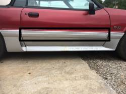 Exterior - Body Moldings - 1987-1993 GT Right Side Door Molding