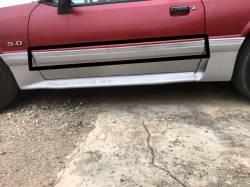Exterior - Body Moldings - 1987-1993 GT Left Side Door Molding