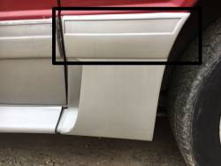 Exterior - Body Moldings - 1987-1993 GT Left Side Quarter Molding