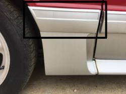 Exterior - Body Moldings - 1987-1993 GT Right Side Quarter Molding