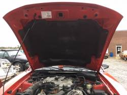 NEW CLEAN PARTS CAR! 2003 Ford Mustang Convertible Red
