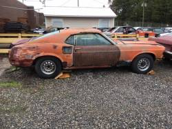 Parts Cars - Featured Products - NEW!! MUST SEE!! 1969 Mach 1 Fastback