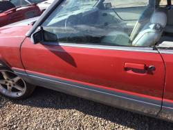 Exterior - Doors & Hatches - 1988-1993 Convertible Door no Mirror-LEFT Drivers Side