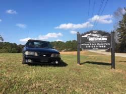 1987-1993 - Parts Cars - 1987 Ford Mustang Black Convertible