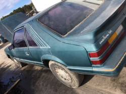 1979-1986 - Parts Cars - 1986 Ford Mustang LX Hatch