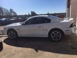 1994-1998 - Parts Cars - 1995 White Coupe Ford Mustang
