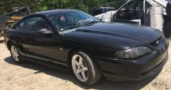 1994-1998 - Parts Cars - 1995 FOrd Mustang GT, Black, 5.0L V8, Manual Transmission