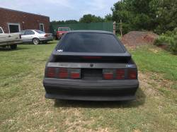 1989 Ford Mustang GT Hatchback - Black Primer