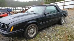 Parts Cars - 1983 Ford Mustang Convertible