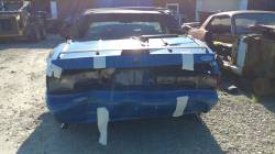 1988 Ford Mustang LX - blue convertible - Image 6