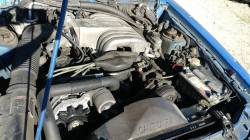 1988 Ford Mustang LX - blue convertible - Image 8