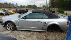 Parts Cars - 2001 Ford Mustang Cobra