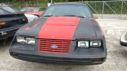 Parts Cars - 1982 Ford Mustang T-Top