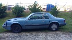 Parts Cars - 1985 Ford Mustang LX Coupe