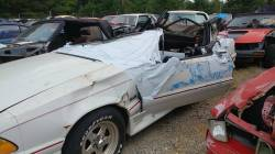 Parts Cars - 1990 Ford Mustang LX