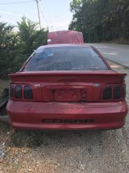1998 Ford Mustang COBRA T-45 Five Speed - Red - Image 3
