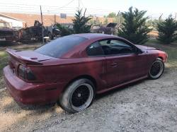 Parts Cars - 1998 Ford Mustang COBRA T-45 Five Speed - Red