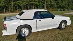 1988 Ford Mustang GT - White Convertible - Image 4