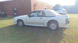 1988 Ford Mustang GT - White Convertible - Image 9