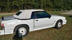 1988 Ford Mustang GT - White Convertible - Image 10