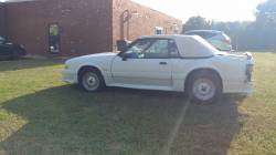 1988 Ford Mustang GT - White Convertible - Image 11