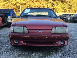 1990 Ford Mustang GT - red hatch - Image 4