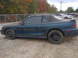 Parts Cars - 1995 Ford Mustang GT Convertible - Green