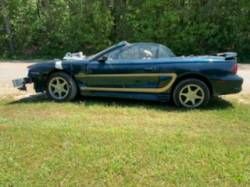 Parts Cars - 1996 FORD MUSTANG GT CONVERTIBLE