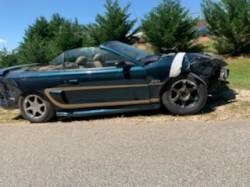 1996 FORD MUSTANG GT CONVERTIBLE - Image 2