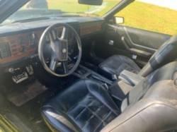 1983 FORD MUSTANG V6 CONVERTIBLE - Image 5